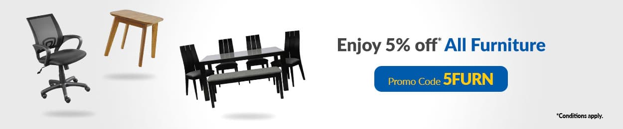 Enjoy 5% off All Furniture