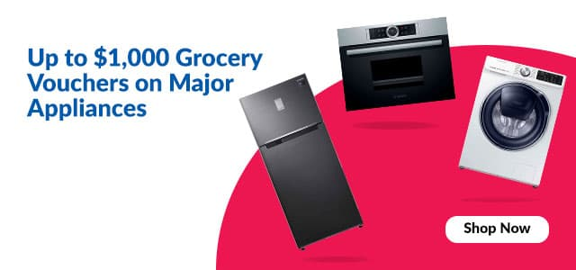Widget Banner - Up to $1000 Shopping Vouchers on Major Appliances