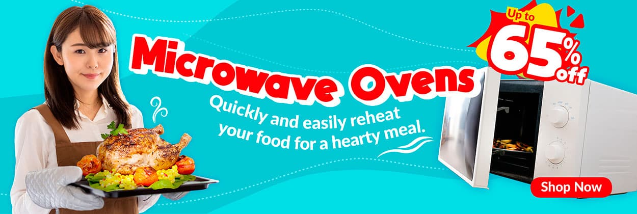 Microwave Oven Highlight Banner