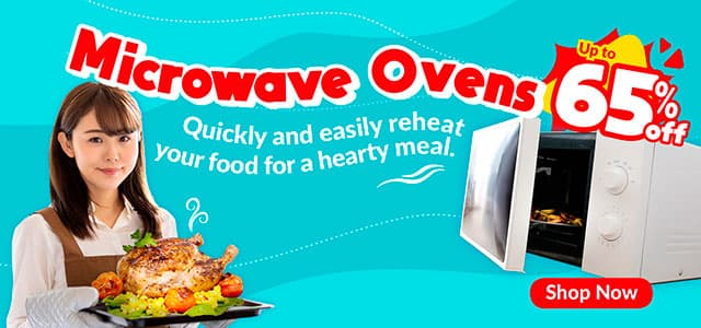 Microwave Oven Highlight Mobile Banner