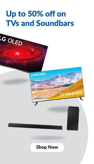 Widget Banner - TVs and Audio