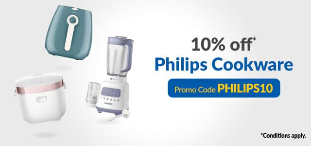 Philips Kitchen Cookware Listing Banner