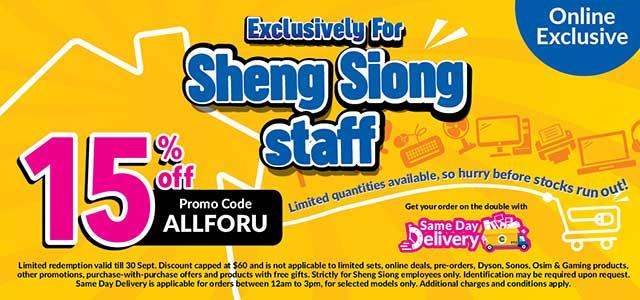 Sheng Shiong Staff