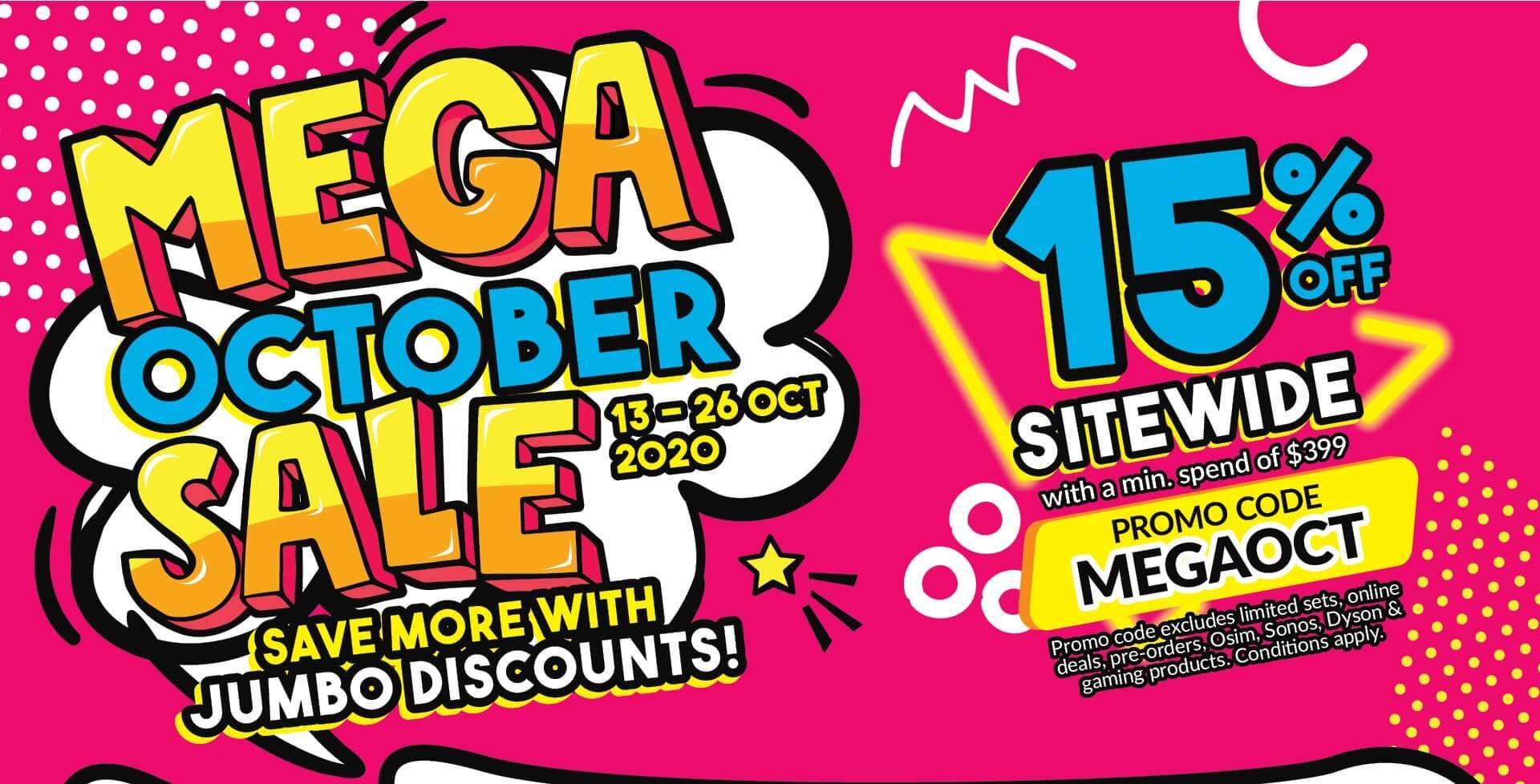 Mega October Sale