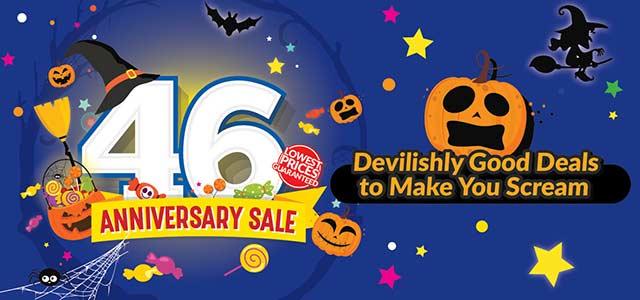46 Anniversary Sale