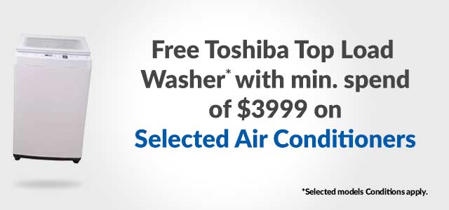Free Toshiba washer
