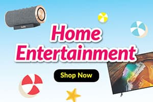 Great Singapore Sale Home Entertainment Highlight Banner