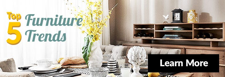 Top Furniture Trends Mega Menu Banner