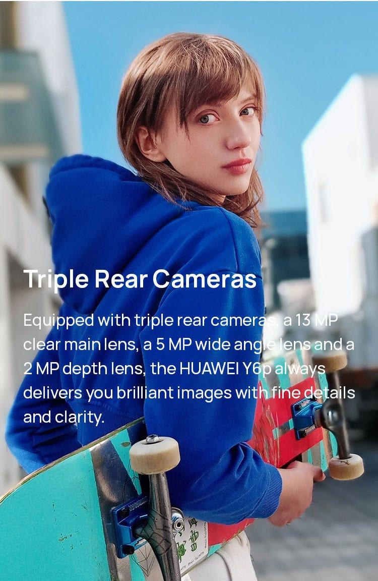 Triple Rear Cameras