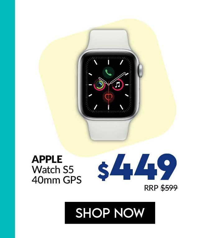 APPLEMWV62ZA/AWATCH S5 40MM SIL AL WT SP GPS