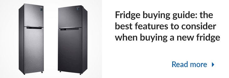 Best features to consider when buying a new fridge Mega Menu Banner