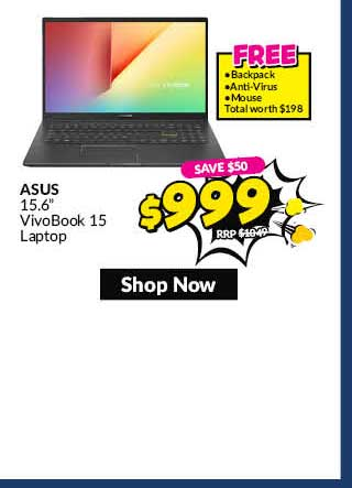 ASUSK513EA-BQ1047T15.6 IN INTEL CORE I5-1135G7 8GB RAM 512GB PCIE SSD WIN 10