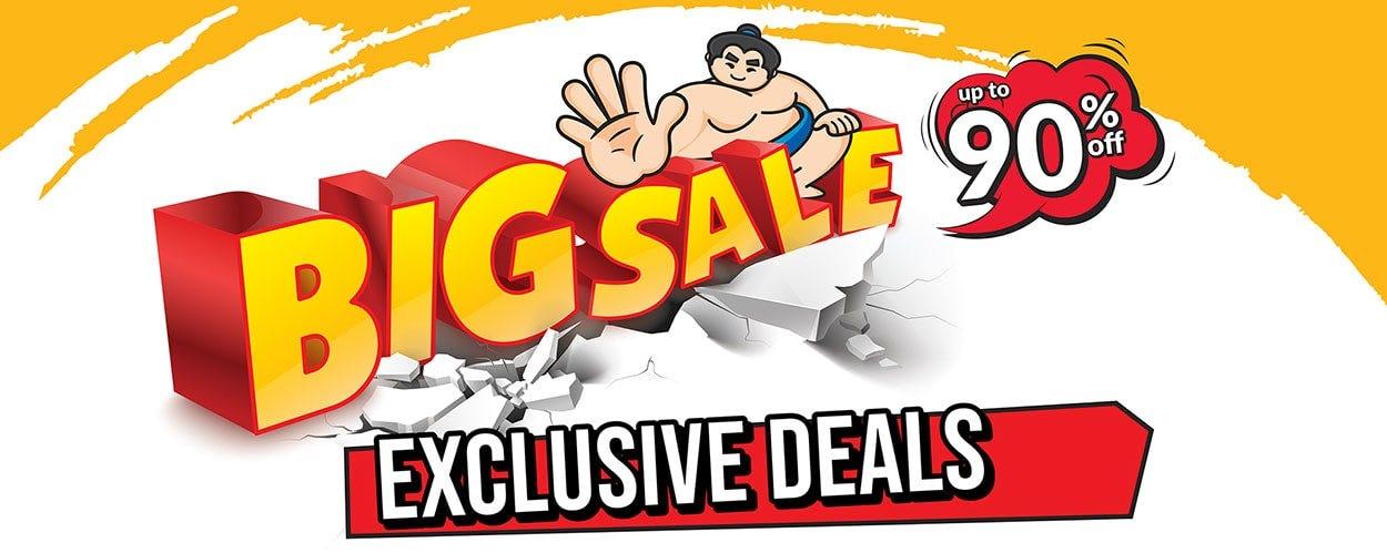 Big Sale Exclusive Deals