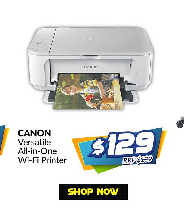 CANON MG3670 WHITE VERSATILE WIFI AIO PRINT SCAN COPY
