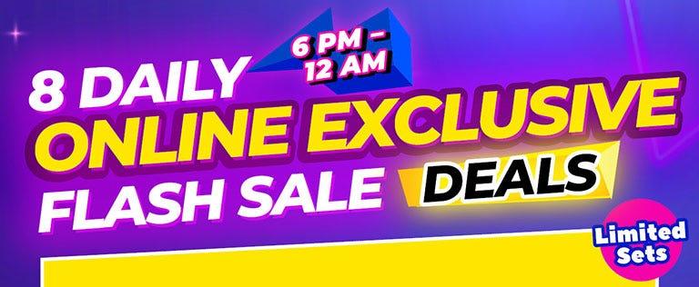 8 Daily Online Exclusive Flash Sale Deals