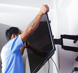 GURU Fixed Wall Mount Services For 40 Inch to 65 Inch TV