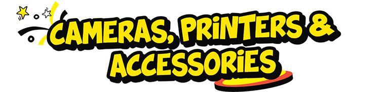 camera printer and accessories