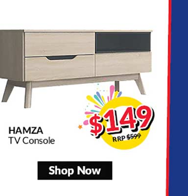 Hamzah TV Console