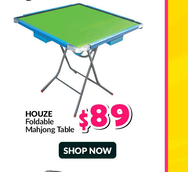 HOUZE FOLDABLE MAHJONG TABLE