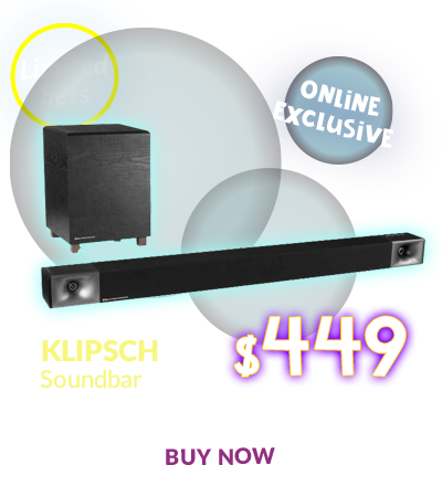 KLIPSCH BAR 40 SOUNDBAR