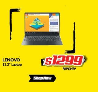 Lenovo 13.3in laptop