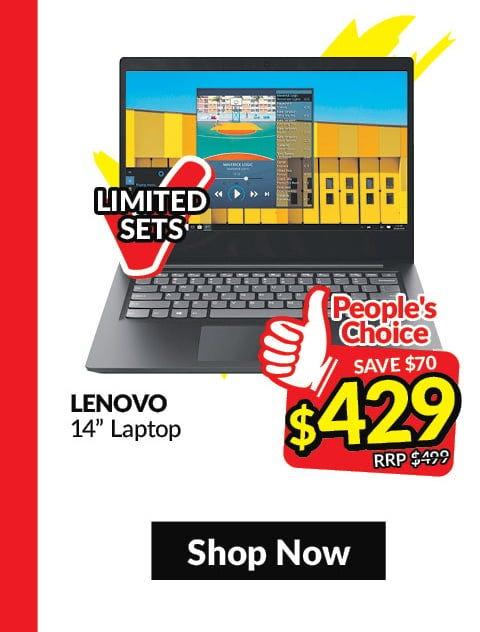 Lenovo 14in Laptop