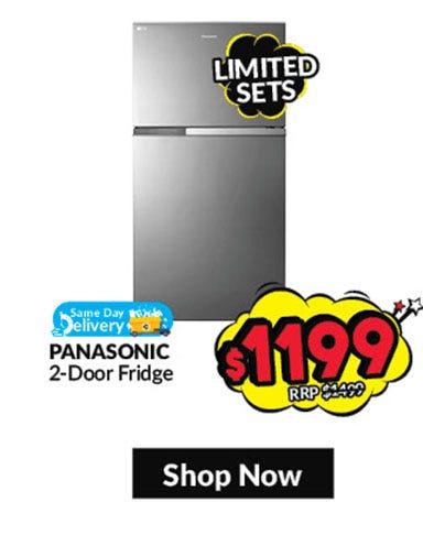 Panasonic 2 Door Fridge