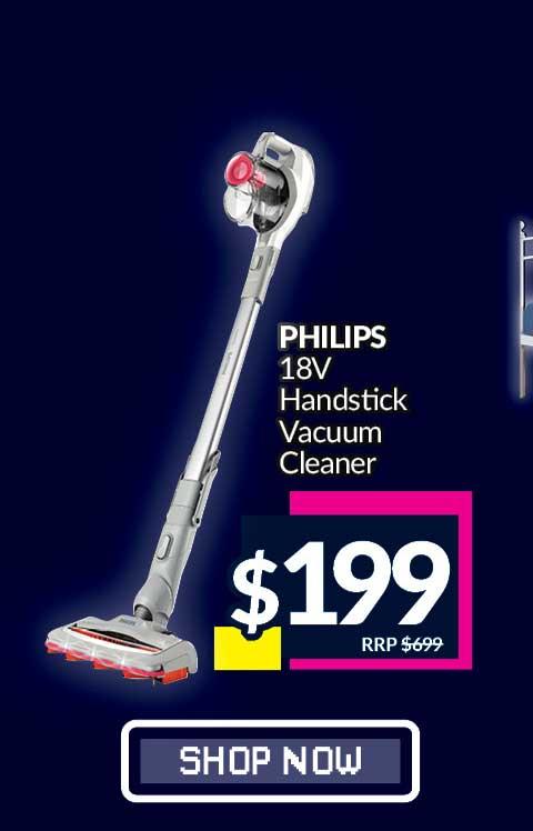 PHILIPS HANDSTICK VACUUM CLEANER (18V)