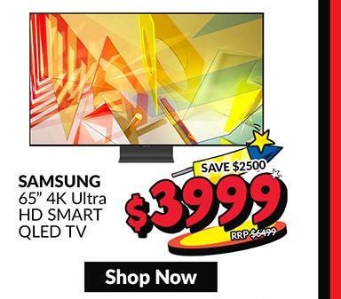SAMSUNG QA65Q95TAKXXS 65 IN 4K ULTRA HD SMART QLED TV