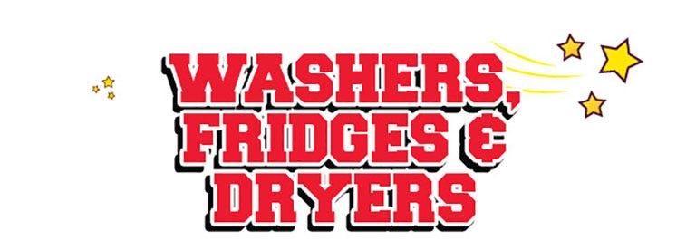 Washer Fridges Dryer